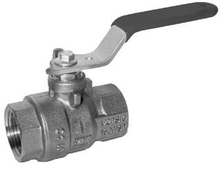 MAINLINE ML5544AB-4 4 THREADED BRASS 2 PIECE FULL PORT BALL VALVE LEAD FREE