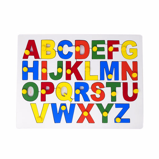 English Alphabet Board- Uppercase (ABC) with Knob