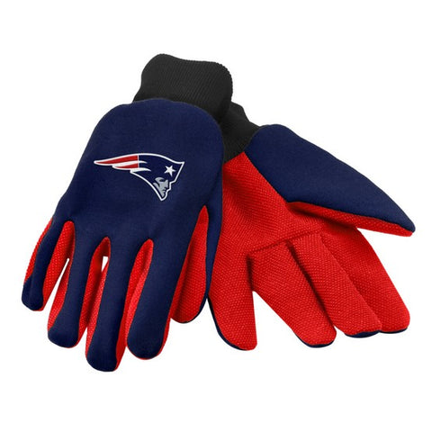 New England Patriots Colored Palm Glove