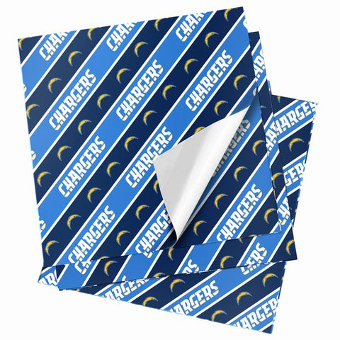 Los Angeles Chargers Folded Wrapping Paper