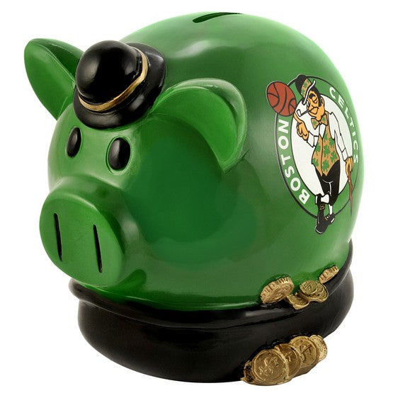 Boston Celtics Lg Thematic Piggy Bank