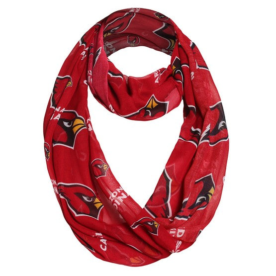 Arizona Cardinals Team Logo Infinity Scarf