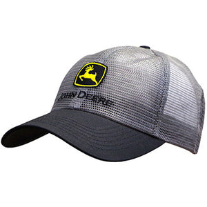 John Deere Men's Charcoal Grey All Mesh Hat Product ID: LP53496
