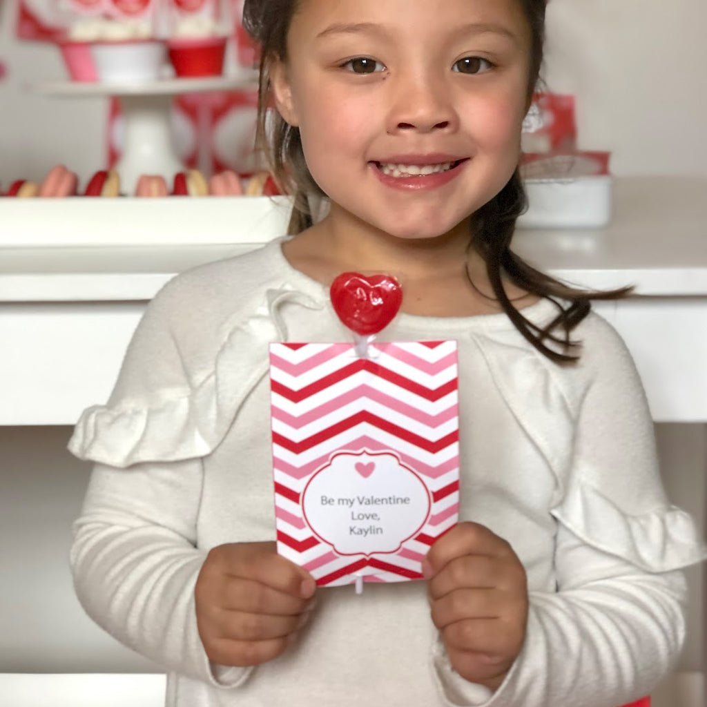 Lollipop and Treat Holder Valentine's Day Printable Collection (Digital Download)