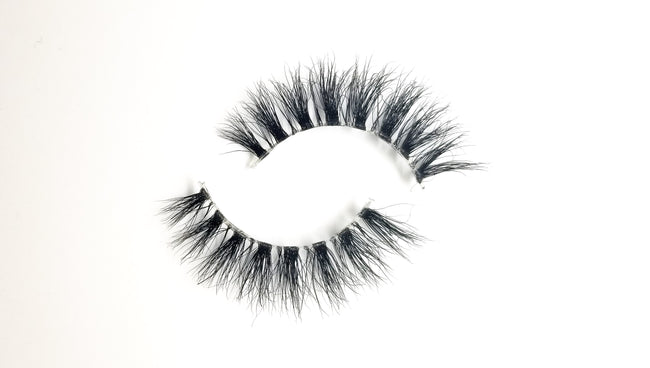 """SOPHIA"" 3D Mink Lashes Invisible Band ByStefany.Com"