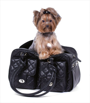 Doggie Carriers in Classic Black and Why We Love Them
