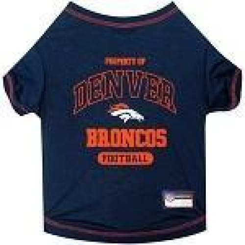 Denver Broncos Dog Tee Shirt - 1