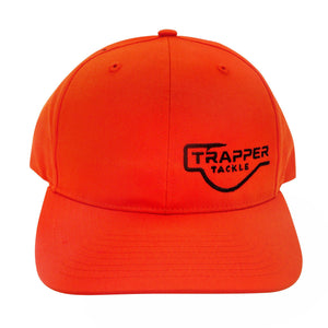 Richardson Pro Twill Cap Hat Trapper Tackle LLC Orange