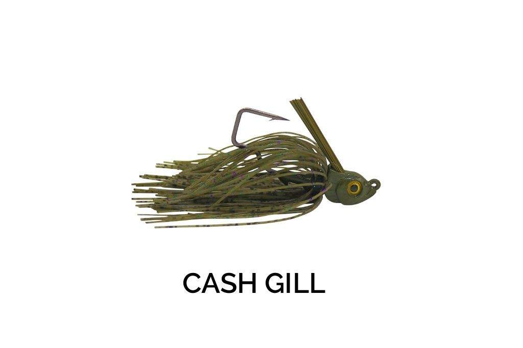 Trapper Tackle Freestyle Swim Jig Trapper Tackle LLC 3/8 oz Cash Gill