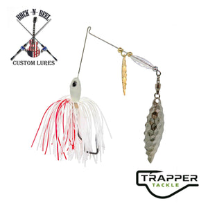 Rock-N-Reel Tournament-Series Spinner Bait Custom Trapper Tackle LLC 3/8oz red