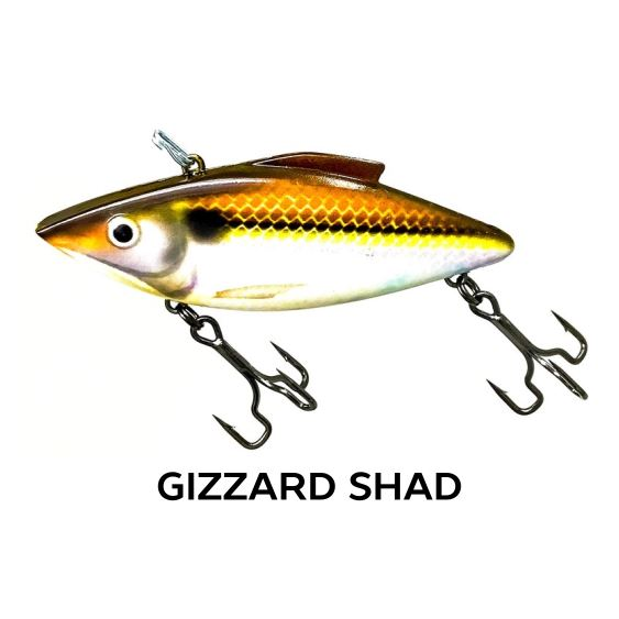 Rat-L-Trapper Hard Baits TrapperTackle Gizzard Shad