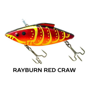 Rat-L-Trapper Hard Baits TrapperTackle Rayburn Red Craw
