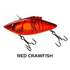 Rat-L-Trapper Hard Baits TrapperTackle Red Crawfish