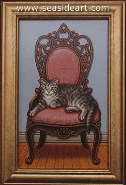 Queen of the House by Sue Wall - Seaside Art Gallery