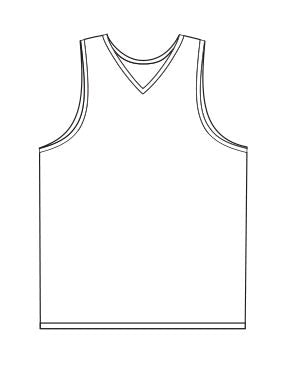 Basketball Jersey Sublimated - Customizable Made in USA