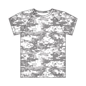 Camo Hunting Top Sublimated - Customizable Made in USA