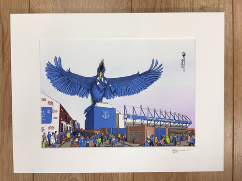 Goodison Park by David Montagnes