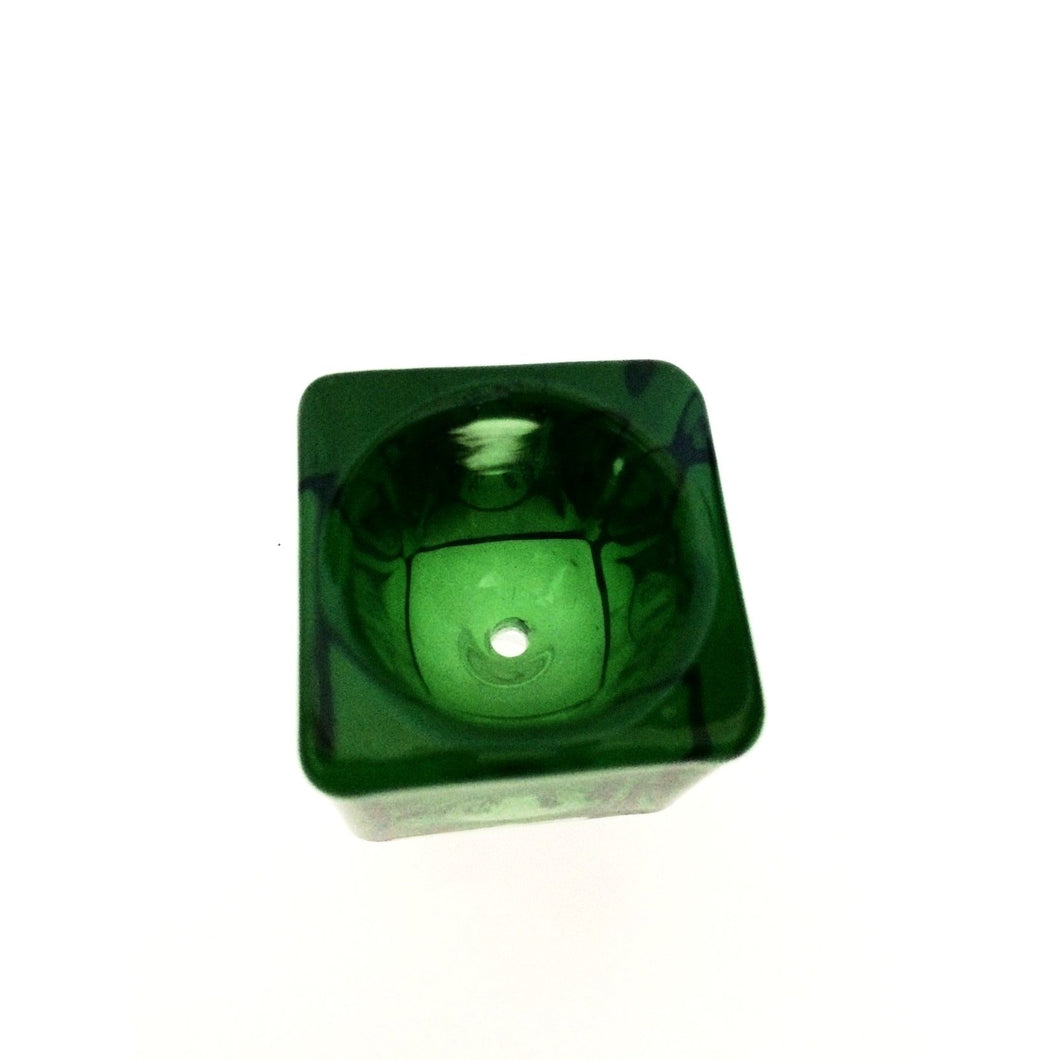 Cube Glass Bowl Piece