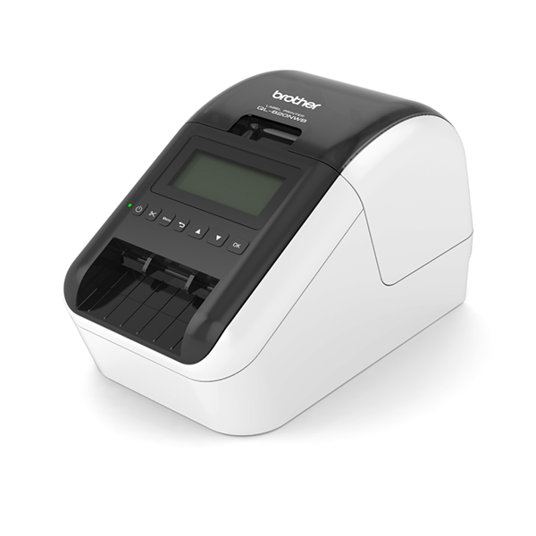 Brother QL-820NWB Label Printer, WIFI - LAN - Bluetooth, DK Roll