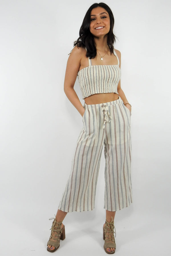 Lorena Striped Pants