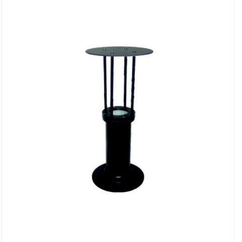 Contemporary Pillar Mount Light