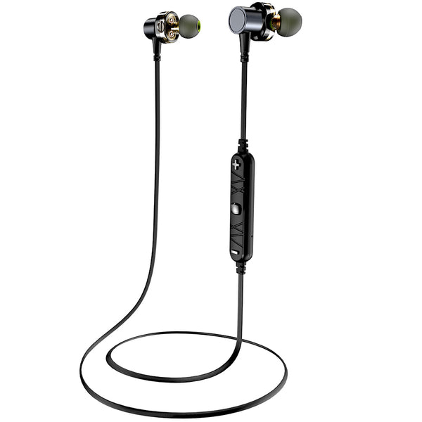 Awei X660BL Quad-core Necked Magnetic Bluetooth Earphone - urbehoof