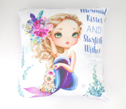 Boho Mermaid Cushion Cover