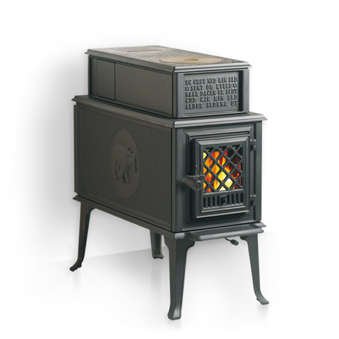 JOTUL F 118 CB BLACK BEAR WOOD STOVE