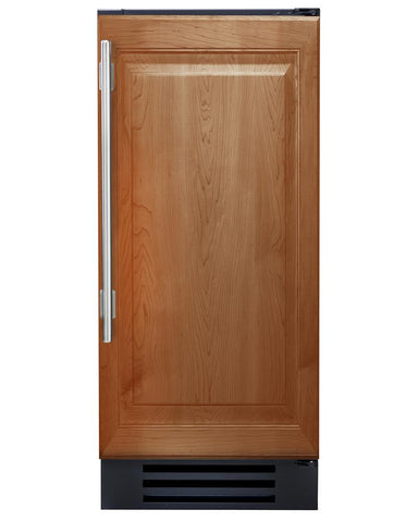 "True Wine Cabinet- 15"" Single Zone Overlay Solid Door"