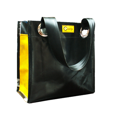 City shopper recycled yellow