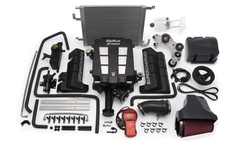 Edelbrock E-Force Stage 1 Supercharger System w/Tune - Charger/Challenger/300 5.7L HEMI '09-10 - Gauge Performance