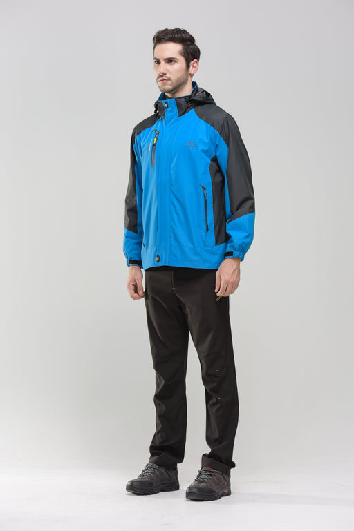 Men's 2-Tone Waterproof Jacket