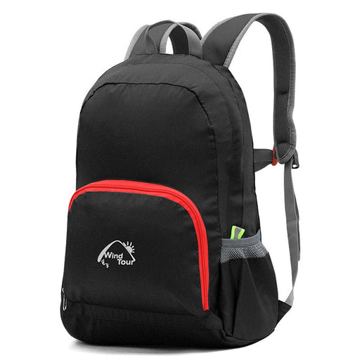 Ultralight Foldable Backpack 25L - Black