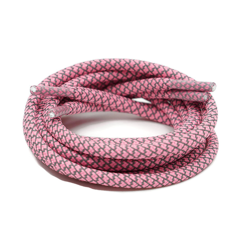 3m Reflective Rope Shoelaces Pink Doctorlaces