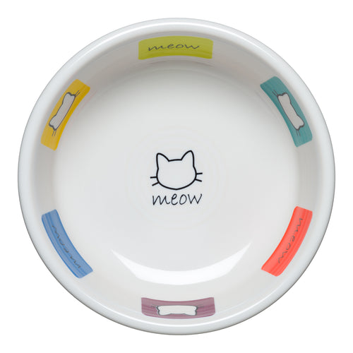 Meow Cat Bowl Small