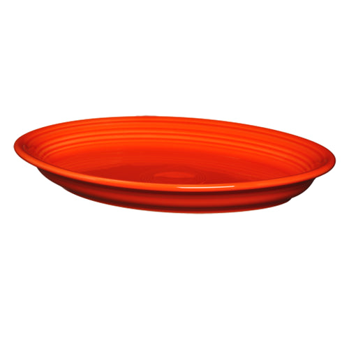 Large Oval Platter Poppy(458)