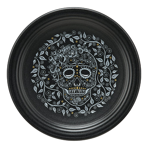 Chop plate Skull and Vine (467)
