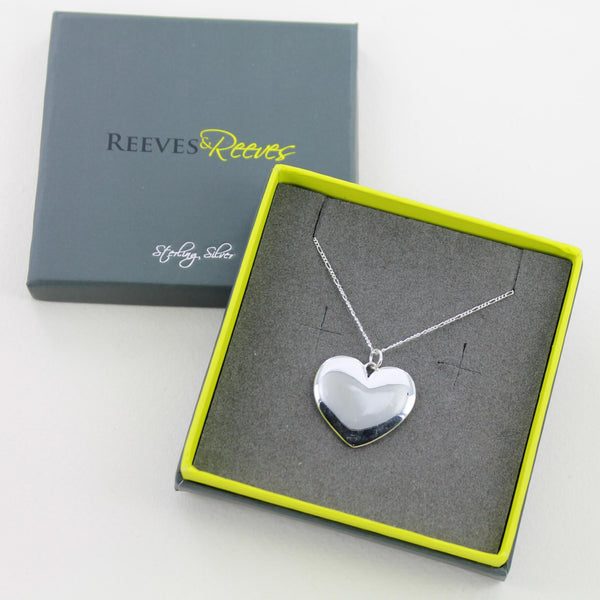 Engravable Heart Pendant