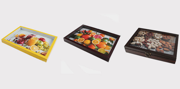 Serving Trays and Candy boxes