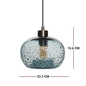 Living Room Blue Lamps , Hand Made Home Decoration Modern Vintage Pendant Light Lamps For Home