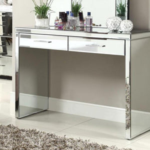 Mirrored Console Table - 2 Drawer