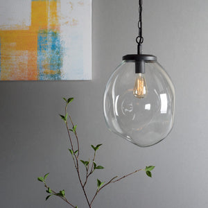 Design Edison White Hanging Glass Ceiling Lamp For House Decoration
