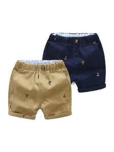 Boys Anchor Shorts