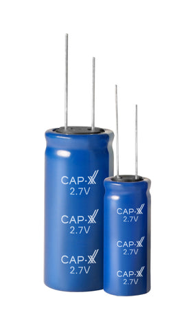 CAP-XX Single Cell Cylindrical Supercapacitor - GY12R722045V107S