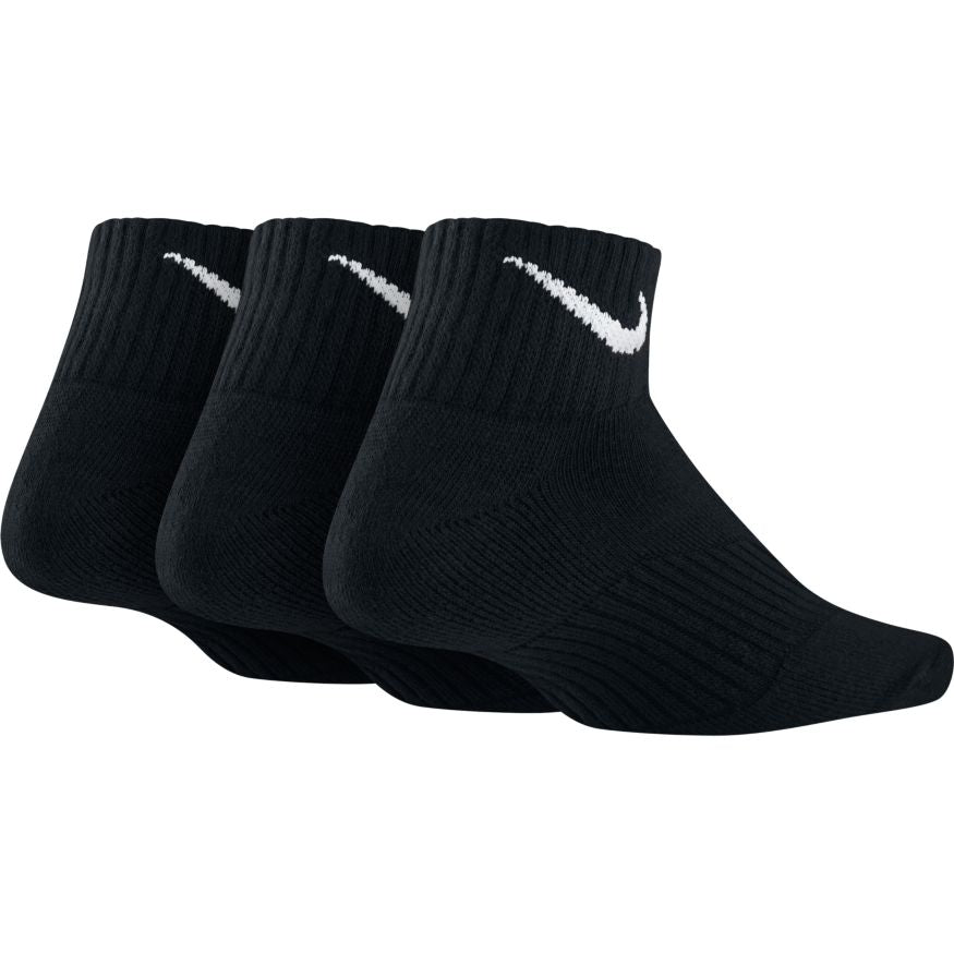 NIKE - PERFORMANCE CUSHION QUARTER SOCK - 3 PAIR