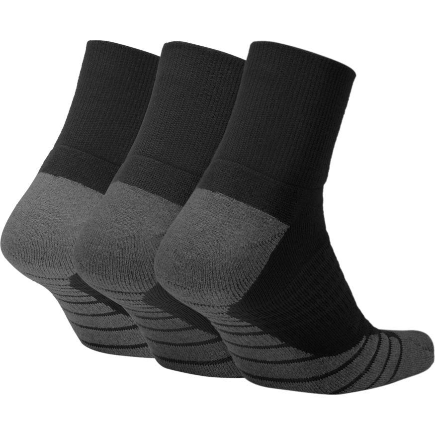 NIKE - MAX CUSHION ANKLE TRAINING SOCK - 3 PAIR