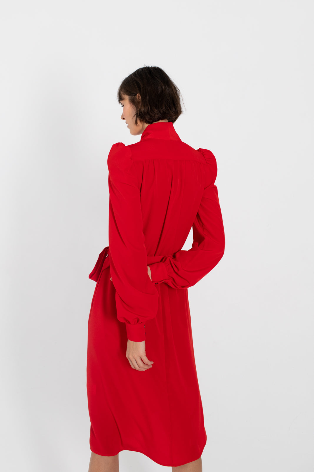 MADEMOISELLE-Scarlet-red-flared-dress-le-slap-occasion-wear-alternative-silk-clothing.jpg