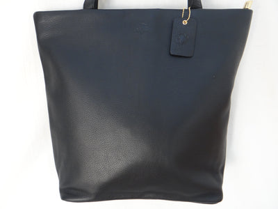 Second Nature Leather Simple Tote ST76