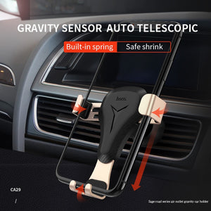 Telescopic Car Holder With Gravity Sensor