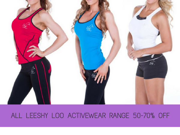 Leeshy Loo Activewear 70-80% Off